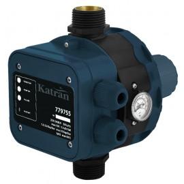 """Контроллер давления электронный 1.1кВт Ø1"""" + рег давл вкл 1.5-3.0 bar Katran (779755)"""
