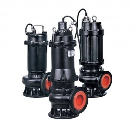 Насос канализационный 380В 0.75кВт Hmax 12м Qmax 433л/мин LEO 3.0 50WQ10-10-0.75F (7738113)