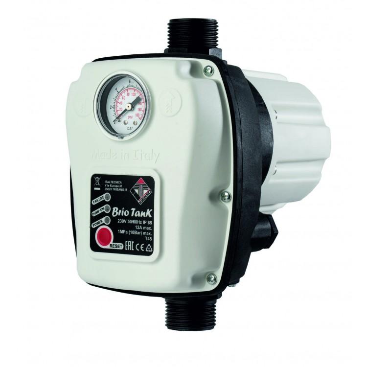 Электронный регулятор - реле давления Italtecnica BRIO TANK (Италия)