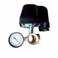 Комлект механической автоматики( реле давления Italtechnica+пятерник Kenle+манометр Kenle)