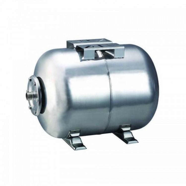 Гидроаккумулятор горизонтальный 50л, Euroaqua HT50ss (нержавеющий)