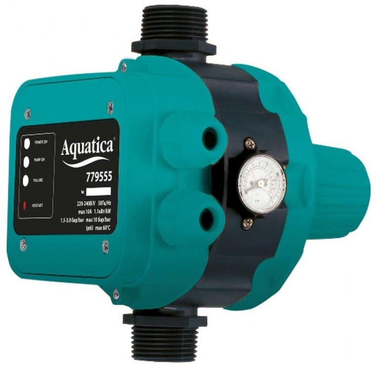 """Контроллер давления электронный 1.1кВт Ø1"""" AQUATICA (779555)"""