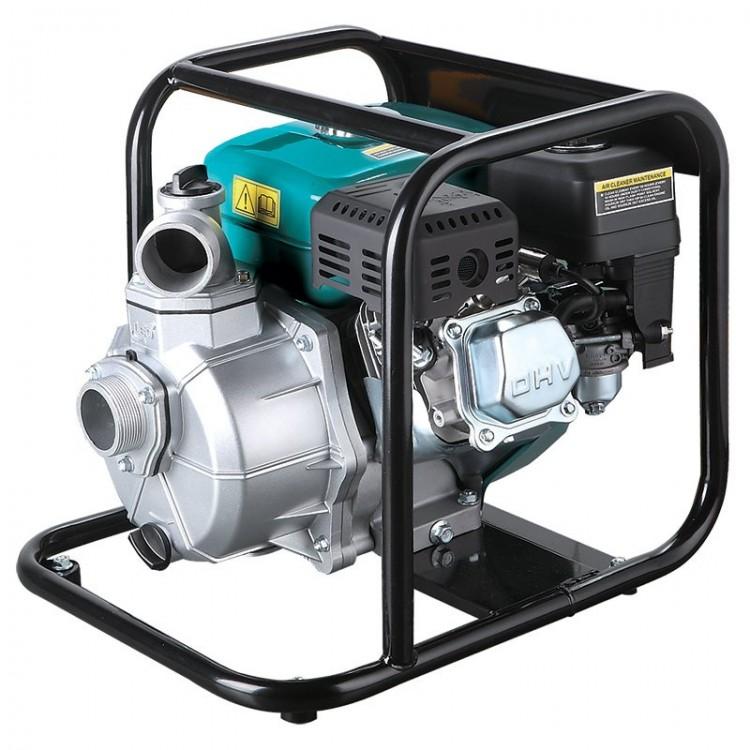 Мотопомпа для чистой воды — 1,6л.с. Hmax 35м Qmax 15м³/ч (2-х тактный) LEO (772505)