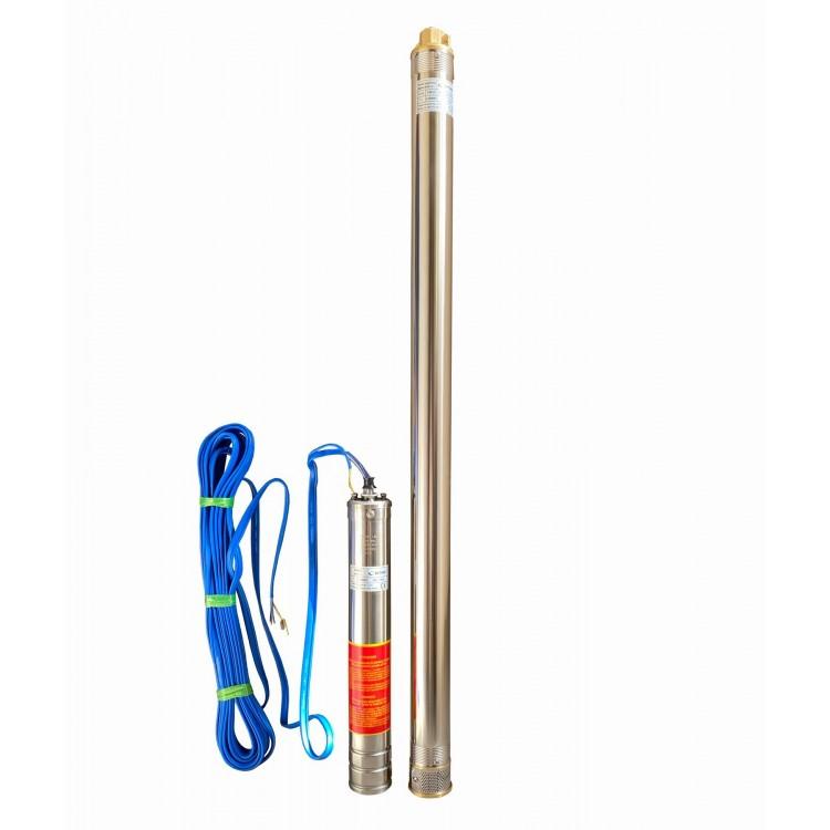 Скважинный насос 3 (75мм) Optima 3 SDm1,8/39 1,1 кВт 159 м+пульт+кабель 15м с повышенной стойкостью к песку