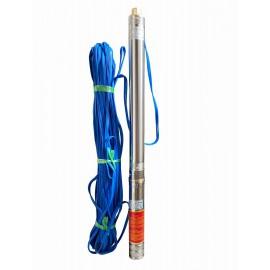 Скважинный насос 3 (75мм) Optima 3 SDm1,8/20 0,55 кВт 85 м+пульт+кабель 15 м с повышенной стойкостью к песку