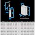 Глубинный центробежный насос Водолей БЦПЭ 0,32-50У; 1,2-3 м3/ч; h=50 м; Ø105мм