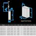 Глубинный центробежный насос Водолей БЦПЭУ 0,5-16У; 1,8-3,6 м3/ч; h=16 м; Ø95 мм