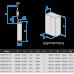 Глубинный центробежный насос Водолей БЦПЭУ 0,5-63У; 1,8-3,6 м3/ч; h=63 м; Ø95 мм