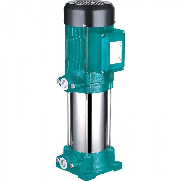 Насос центробежный многоступенчатый вертикальный 380В 2.2кВт Hmax 86м Qmax 100л/мин LEO 3.0 (Aquatica 7754563)