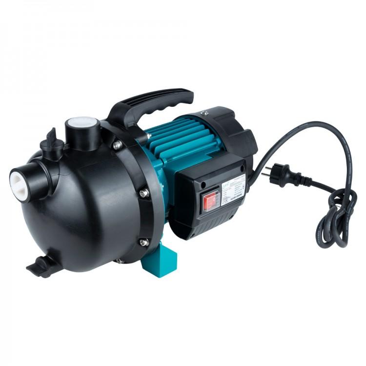 Насос центробежный самовсасывающий 1.0кВт Hmax 44м Qmax 73л/мин пластик LEO (775308)