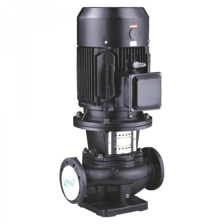 Насос центробежный вертикальный 380В 0.75кВт Hmax 17м Qmax 275л/мин LEO 3.0 LPP40-13-0.75/2 (7714123)