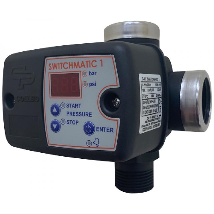 Контроллер давления Coelbo Switchmatic 1 T-KIT (max 2.2кВт)