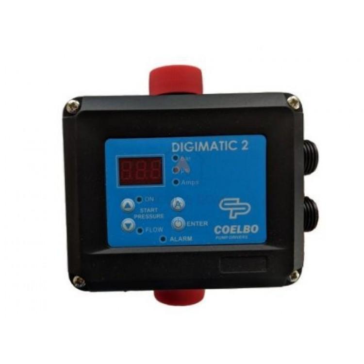 Контроллер давления реле COELBO DIGIMATIC 2 (max 2.2кВт)
