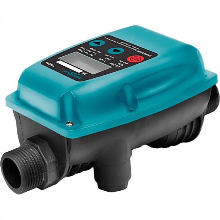 """Контроллер давления электронный 1.1кВт Ø1"""" с регулировкой давления включения/отключения AQUATICA (779546)"""
