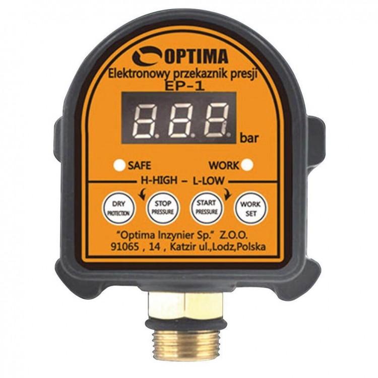 Электронное реле давления Optima  EP-1 с защитой сухого хода