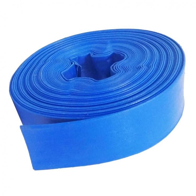 """Рукав для дренажно-фекальных (канализационных) насосов, 50м, 1""""(25мм), синий, 2атм"""