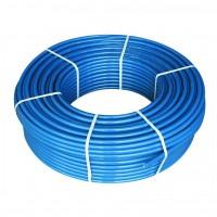 Труба полиэтиленовая, синяя (10 атмосфер) Ø25 (2 мм)