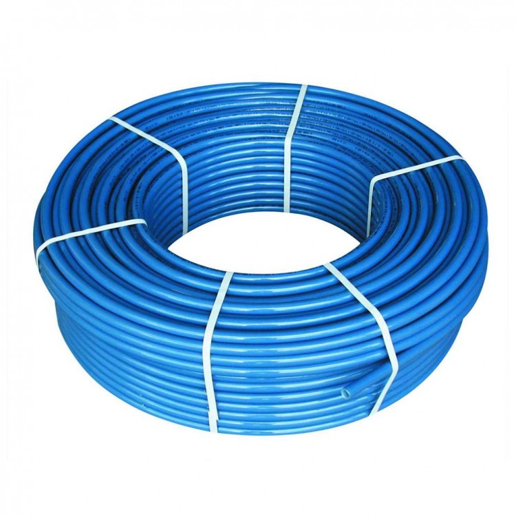 Труба полиэтиленовая, синяя (6 атмосфер) Ø20 (1,6 мм)