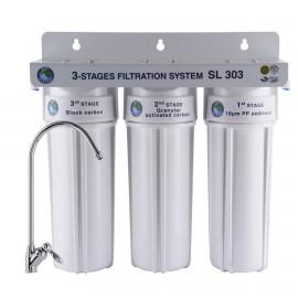 Система 3-х ступенчатой очистки Bio+ systems SL303-NEW + монокран