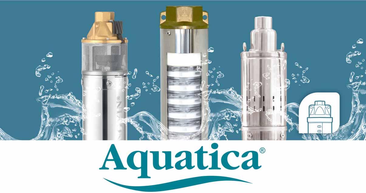 Глубинные насосы Акватика Aquatica