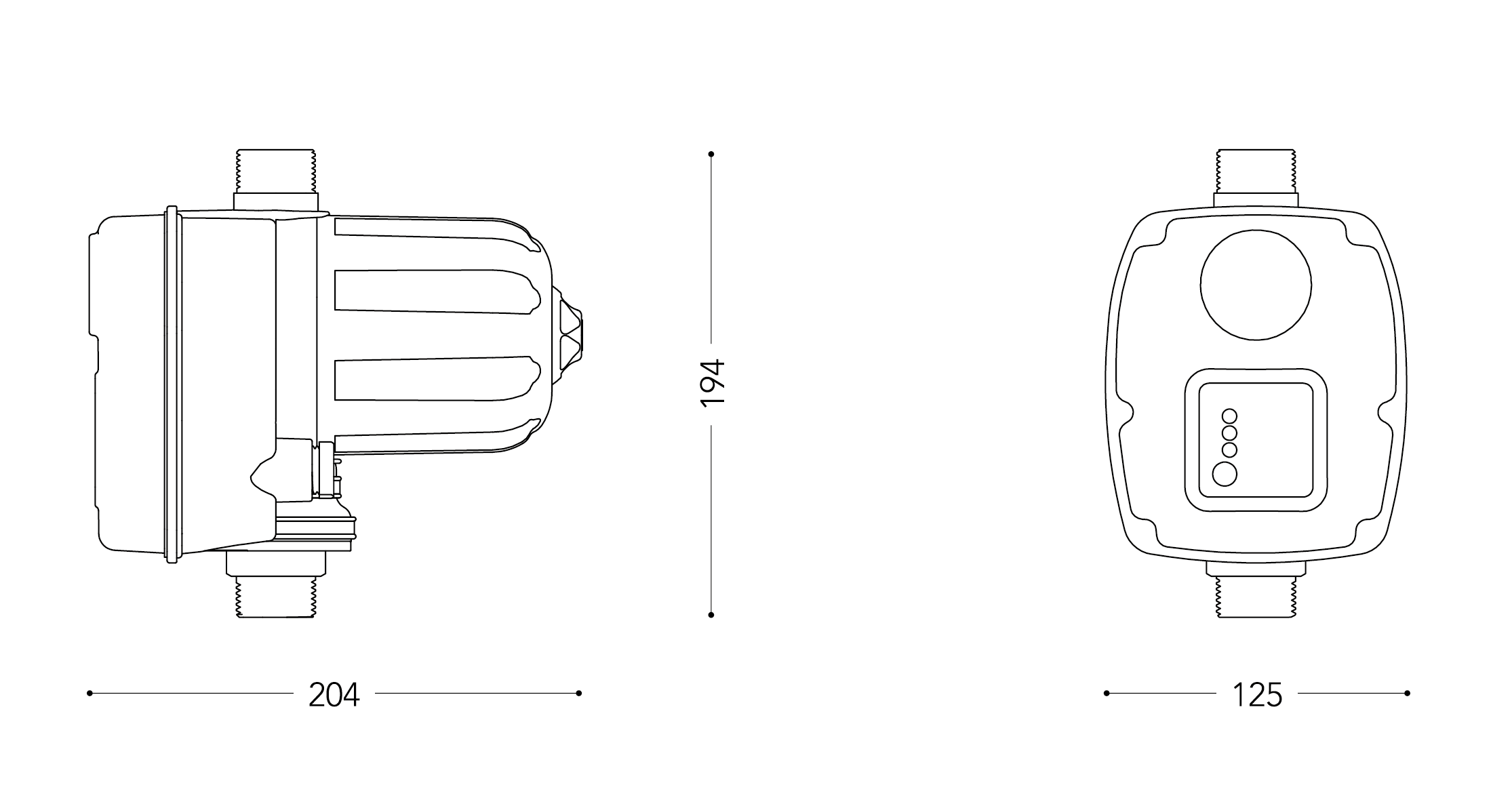 Размеры Brio Tank