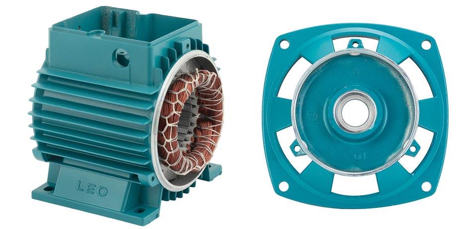 Корпус двигателя со статором для центробежных самовсасывающих насосов (775324029)